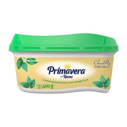 Margarina Primavera Con Sal Chantilly Untable 400 g