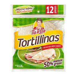 Tortilla Tía Rosa Tortillinas Reducidas en Grasa 12 U