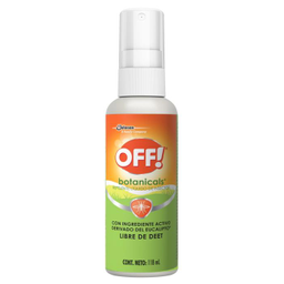 Repelente De Insectos Off! Botanicals 118 mL
