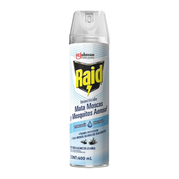Insecticida Raid Mata Moscas y Mosquitos 400 mL