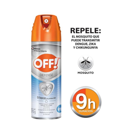 Repelente De Insectos Off Defense en Aerosol 70 g