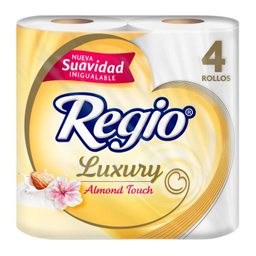 Regio Papel Higiénico  Luxury Almond Touch