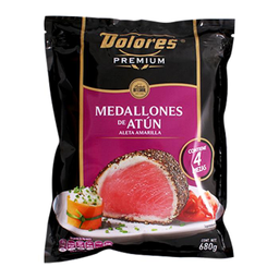 Medallones Dolores De Atún Aleta Amarilla Premium 680 g