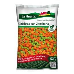 La Huerta Vegetales Congelados Chícharo Con Zanahoria
