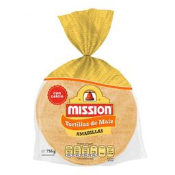 Tortilla Mission De Maíz Amarillas 755 g