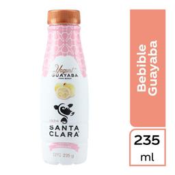 Yogurt bebible Santa Clara con guayaba Pet 235 g.