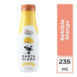 Yogurt bebible Santa Clara con mango Pet 235 g.