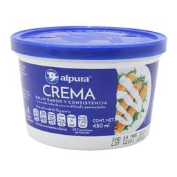 Crema Alpura Ácida Regular 450 mL