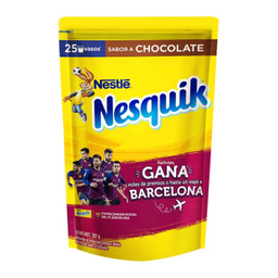 Chocolate Nesquik en Polvo Bolsa 357 g