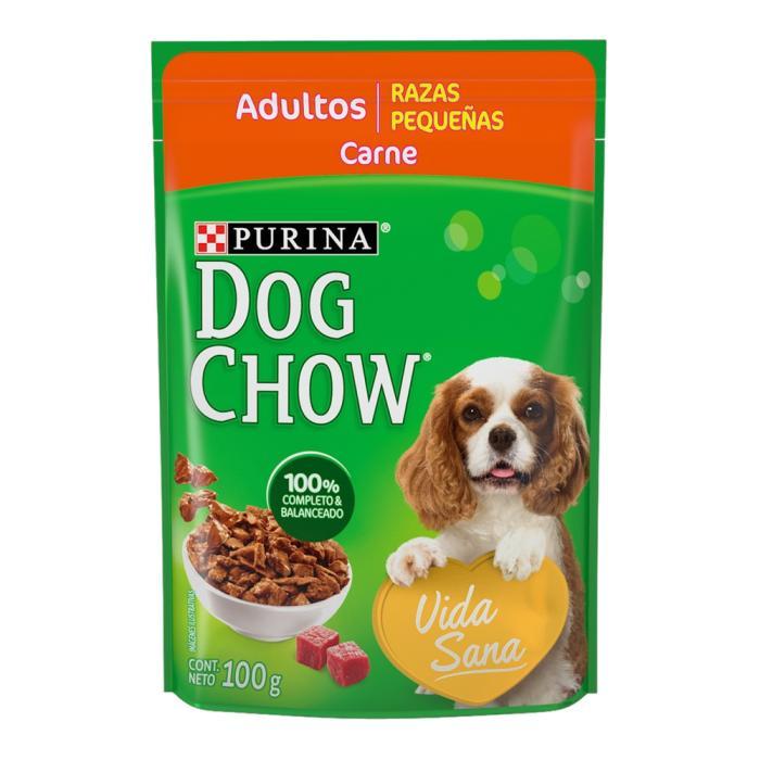 Dog Chow Alimento perro adulto razas pequeñas carne