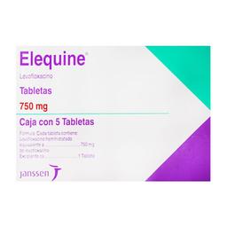 Elequine 5 Tabletas (750 mg)