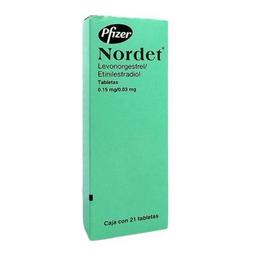 Nordet (0.15 Mg/0.03 Mg)