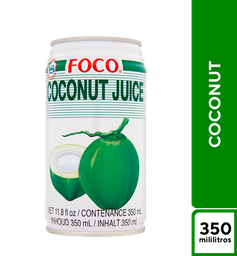 Foco Coconut 350 ml