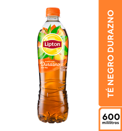 Lipton Té Negro Durazno 600 ml