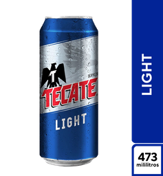 Tecate Light 473 ml