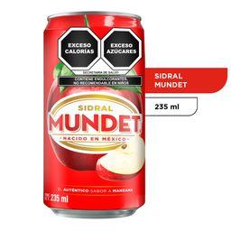 Sidral Mundet 235 ml