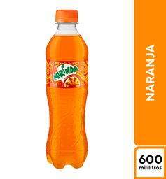 Mirinda Naranja 600 ml
