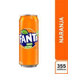Fanta Naranja 355 ml