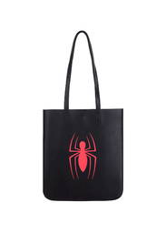 Bolsa Tote Logo Spiderman Negro Marvel 1 U