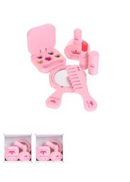 Juguete de Madera Kit de Maquillaje Rosa 1 U