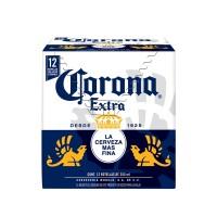Cerveza Clara Corona Extra 12 Botellas De 355 mL