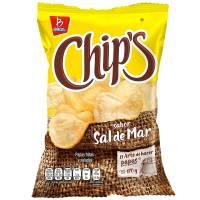 Papas Chip'S Sabor Sal De Mar 170 g