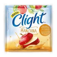Polvo Para Preparar Bebida Clight Sabor A Manzana 7 g