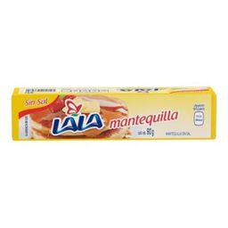 Mantequilla Lala Sin Sal  90 g