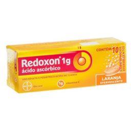 Redoxon Sabor Limón 10 Tabletas Efervescentes De 1 g