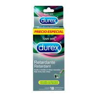 Condones Durex Retardante 18 pzas