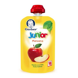 Papilla Gerber Junior Manzana