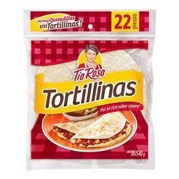 Tortillinas Tía Rosa de harina 22 pzas