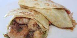 Burrito de Camarón Alambre