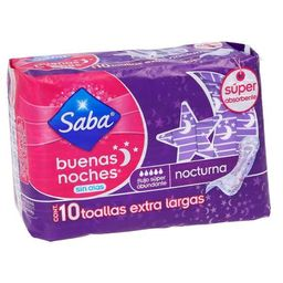 Saba Toalla Femenina  Buenas Noches Sin Alas