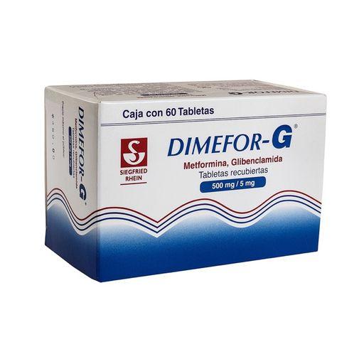 Dimefor-g (500 Mg/5 Mg)