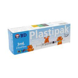 Jeringa Bd Plastipak 23 G X 25 Mm Infantil 5 u