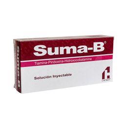 Multivitamínico Suma-b Inyectable 5 Ampolletas+5 Jeringas