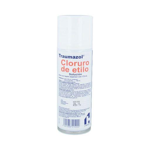 Traumazol Cloruro De Etilo Cutaneo Solucion 175 mL