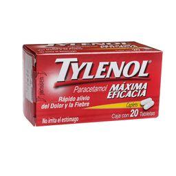 Analgésico Tylenol 500 Mg
