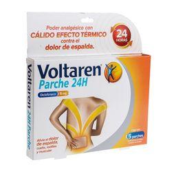 Voltaren Novartis 24Hrs 5 Parches Caja Diclofenaco Sódico 15 Mg