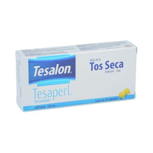 Tabletas Para La Tos Tesalon Tesaperl