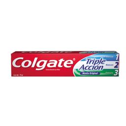 Pasta Dental Colgate Anticaries Con Fluor Triple Acción