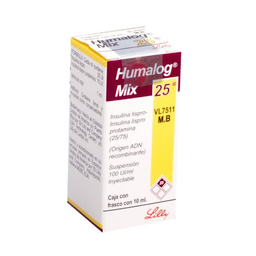 Humalog-Mix 25 Solución Inyectable 10 mL (100 UI)