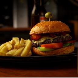 Hamburguesa Gaudir + bebida