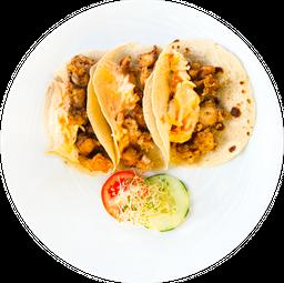 Taco Chicharrón de Pulpo