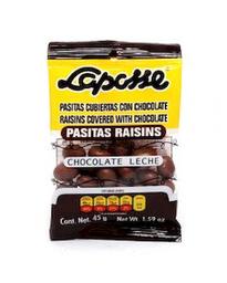 Chocolate Laposse Pasitas Raisins 45 g