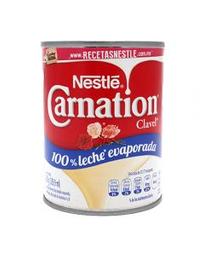 Leche Evaporada Carnation Clavel Lata 360 g