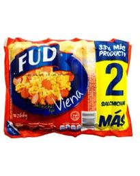 Salchichas Fud Viena 266 g
