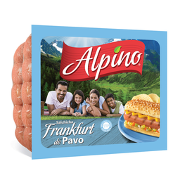 Salchicha Alpino Frankfurt Pavo 1 Kg