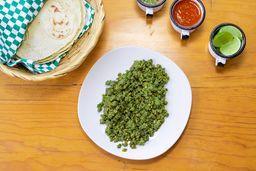 Taco Chorizo Verde